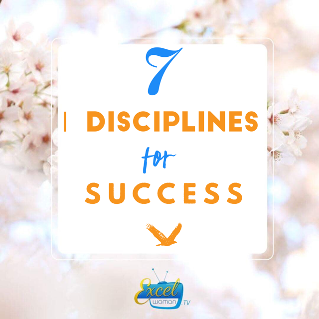 7 Diciplines for Success in 2018