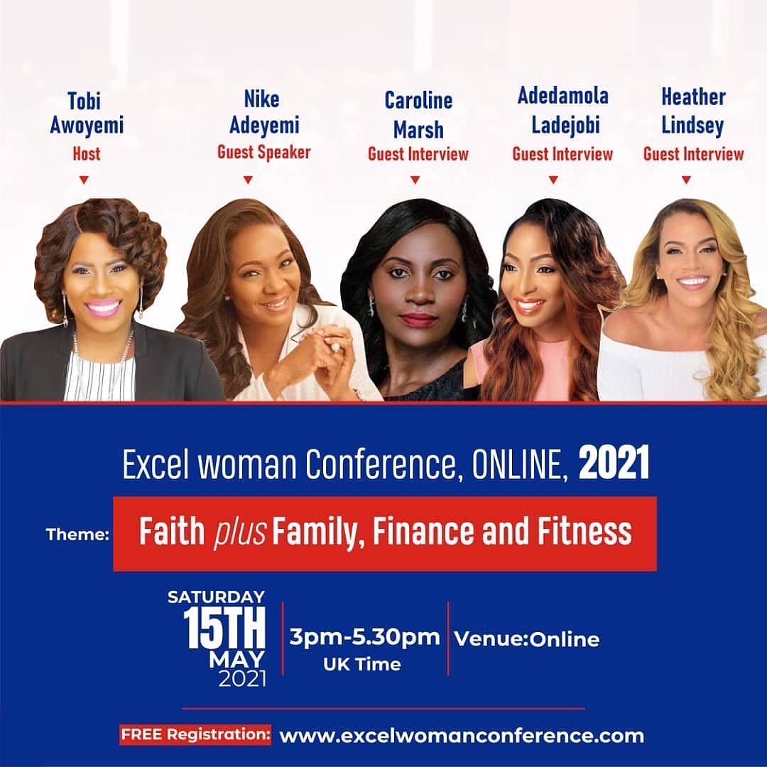 Excel Woman Conference May 2021