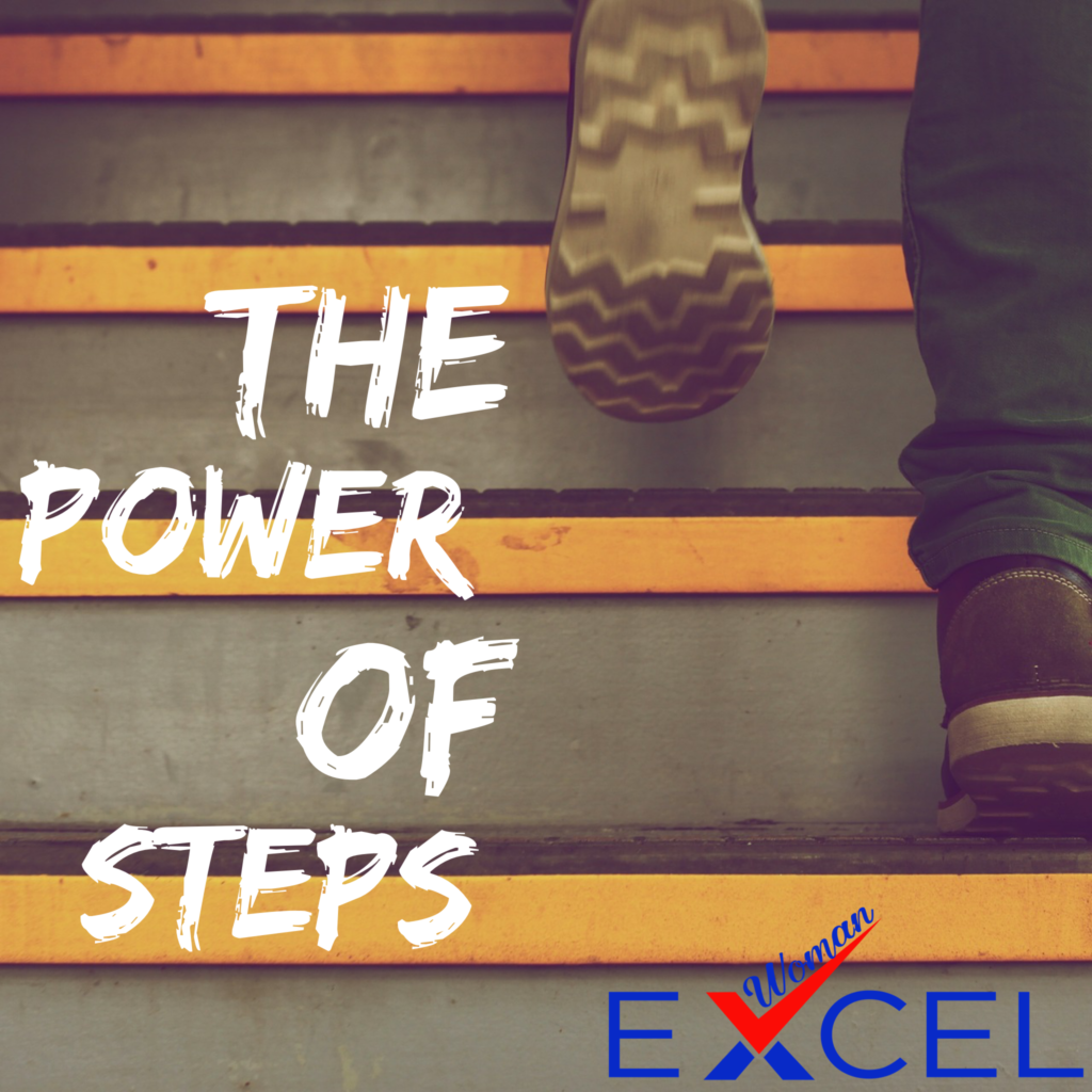 The Power of Steps by Tobi Awoyemi